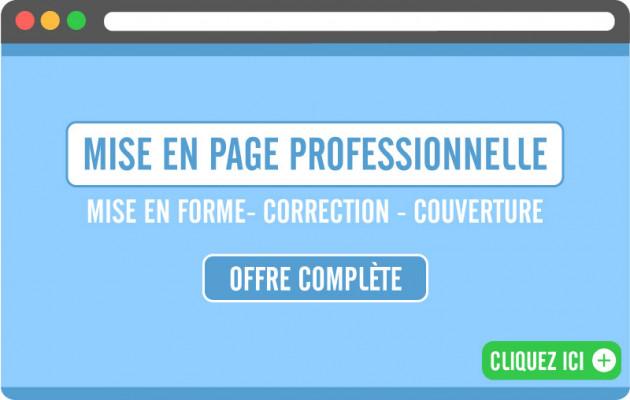 réaliser la mise en page design de votre document