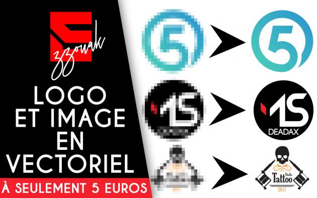 Je Vais Transformer Votre Logo Image En Vectoriel Pour 5