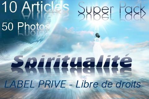 """vous fournir un Super Pack """"SPIRITUALITÉ"""" 10 Articles + 50 Photos Libres de droits"""