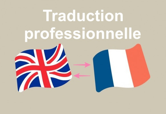 traduire/translate professionnellement (français-anglais/anglais-français)