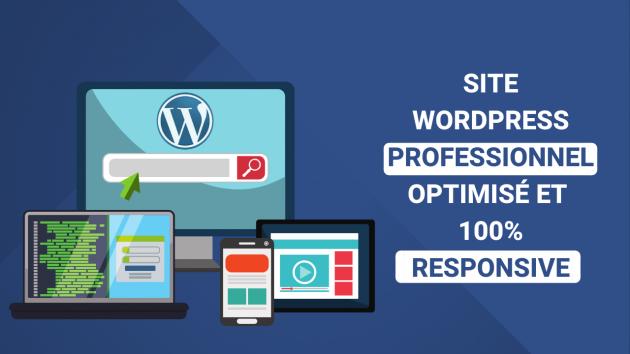 créer votre site vitrine WordPress
