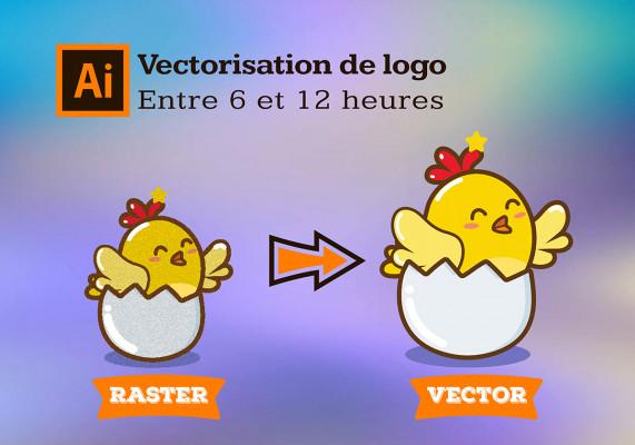 convertir votre logo/image en vectoriel