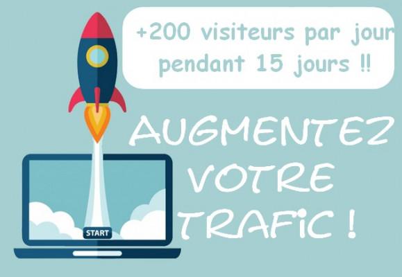 augmenter votre trafic de 200 vrais visiteurs (français) par jour