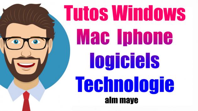 rédiger des Tutos Windows iphone Mac Gadgets Logiciels