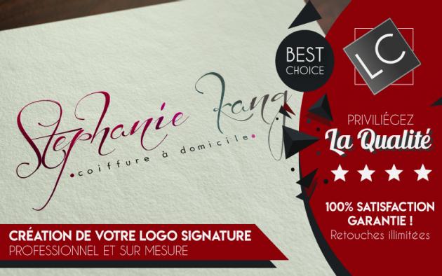 vous créer un logo signature sur-mesure