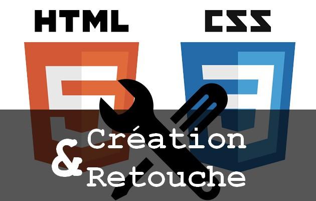 corriger votre template html