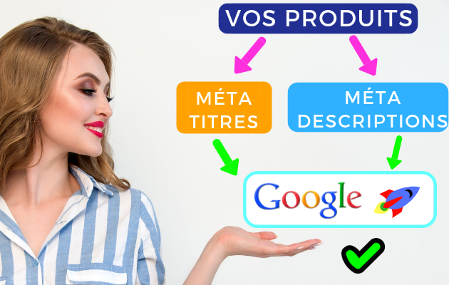 booster le référencement de vos produits SEO Google avec les méta-balises