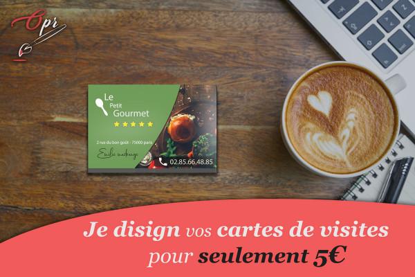 Je Vais Creer Le Design De Votre Carte Visite Pour 5 EUR