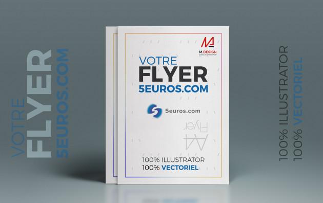 créer un flyer design et sur mesure