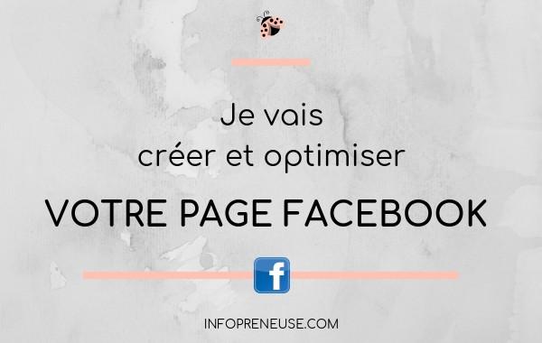 créer et optimiser votre page FACEBOOK