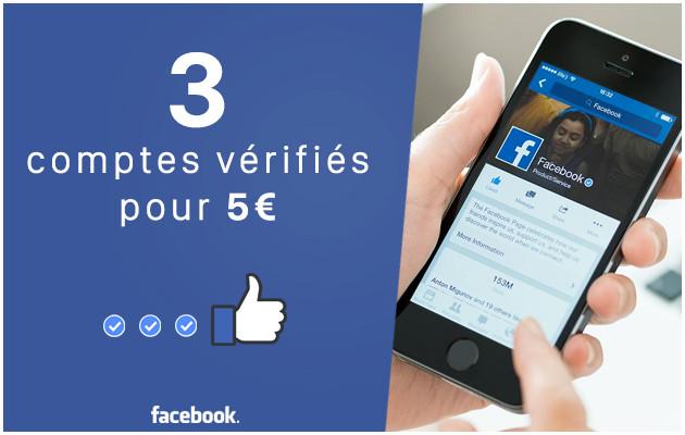 vous donner 3 anciens comptes facebook