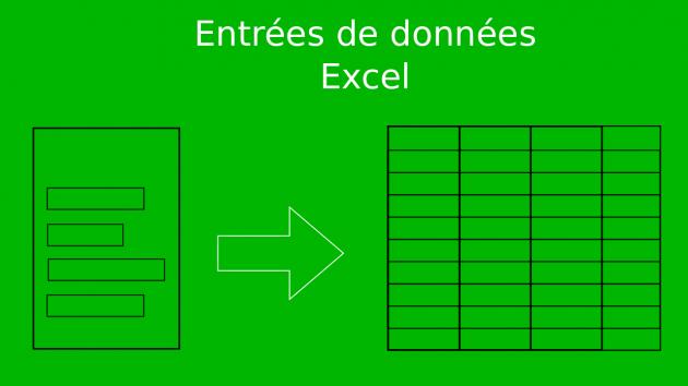 remplir votre tableau Excel