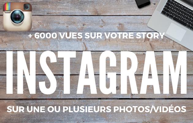 ajouter 6000 vues réelles a votre story Instagram