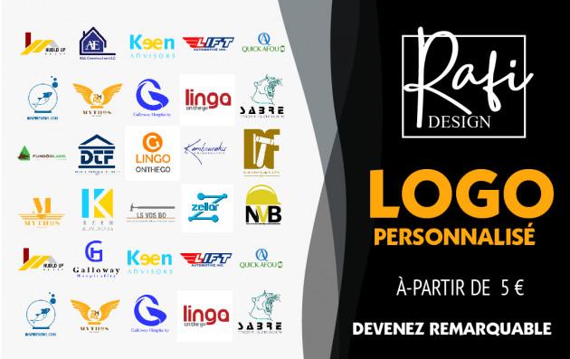 vous créer un logo  personnalisé