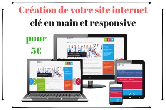 f3be55a7fcc Je vais créer votre site internet clé en main et responsive pour 5 €