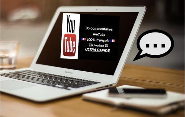 vous fournir 35 commentaires YouTube 100% français