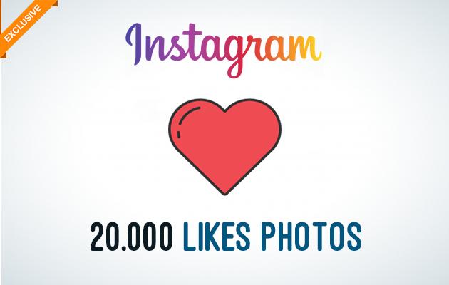 envoyer 20.000 Likes pour vos Photos sur Instagram