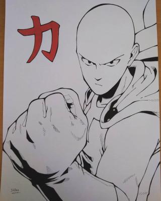 Je Vais Vous Dessiner Un Personnage Type Manga Noir Et Blanc Pour 5