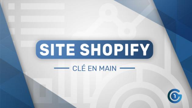 Je vais créer votre boutique shopify (Dropshipping) pour 5 €