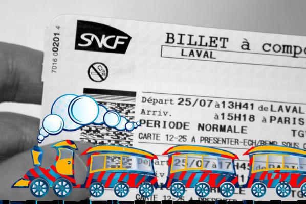 rechercher pour vous votre billet de train (Aller et Retour) au meilleur tarif