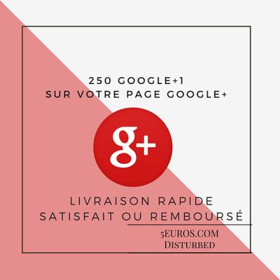 ajouter 250 Google +1 sur votre site