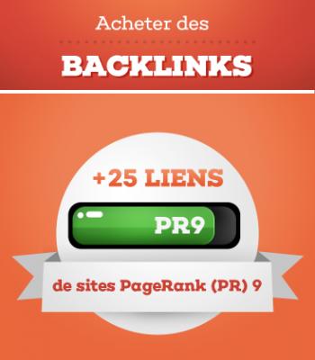 créer 25 backlinks PR6-9 manuels et permanents  à votre site