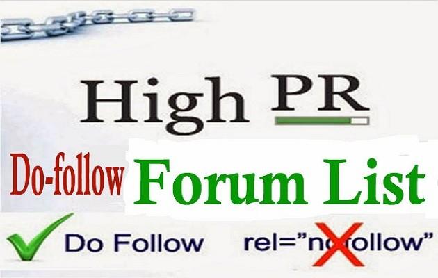 créer 16 Forum backlinks Dofollow manuels à votre site