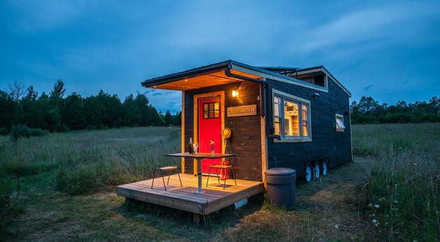publier un lien sur mon blog niché Cabane/Tiny house