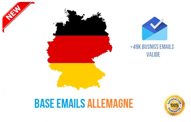 vous Fournir +15k Emails HQ des Clients de l' Allemagne