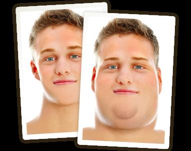 ajouter des kilos à votre photo