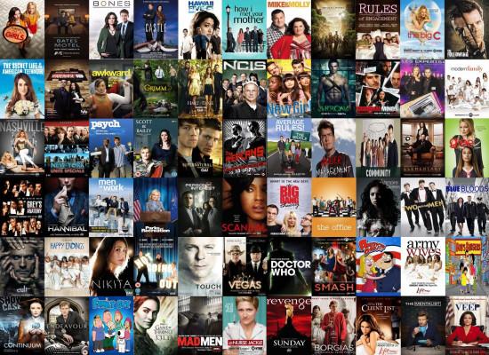 vous conseillez une liste de séries selon vos goûts