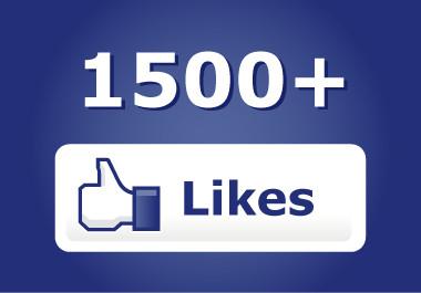 apporter 1500 likes à votre page facebook