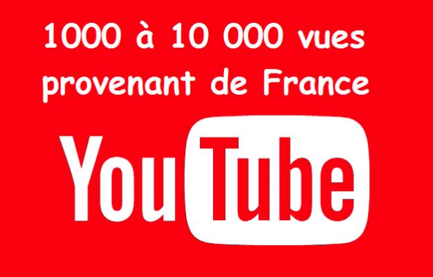 vous obtenir 1000 vues FRANCAISES pour votre vidéo Youtube