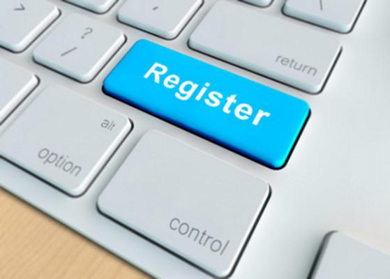 creer une page d'enregistrement (Register)