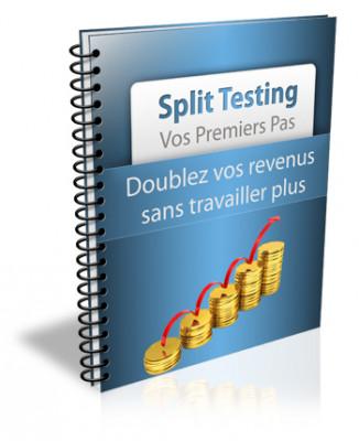 """vous livrer un livre au format PDF Sur """" Split Testing - Mes Premiers Pas """""""