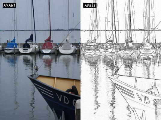 transformer vos photos en dessins