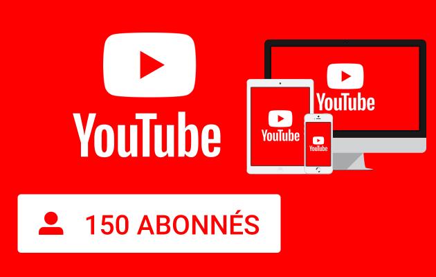 vous fournir 150 Abonnés YouTube de haute qualité