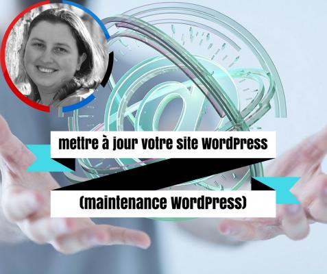 mettre à jour votre site WordPress (maintenance WordPress)