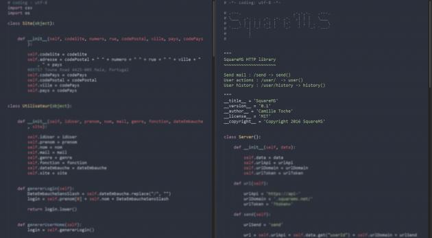 créer ou corriger votre programme Python