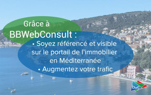 faire votre publicité sur le portail de l'immobilier en Méditerranée