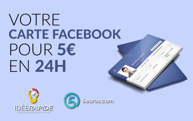 Je Vais Crer Votre Carte De Visite Facebook Pour 5 EUR