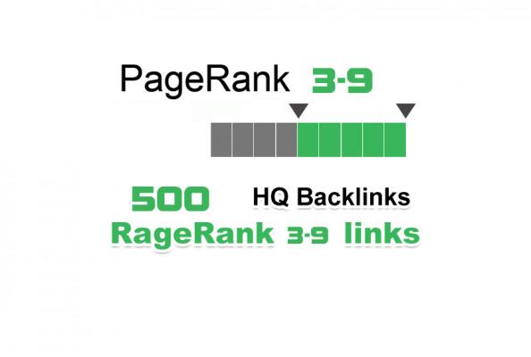 vous créer plus de 500 do-follow PR 3-9 backlinks
