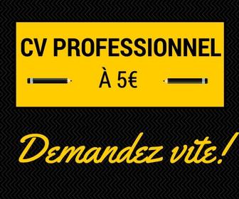 créer votre CV professionnel