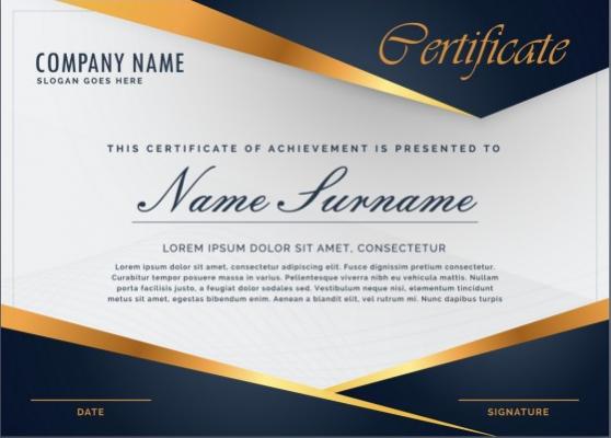 créer un diplôme ou un certificat avec un design professionnel et élégant