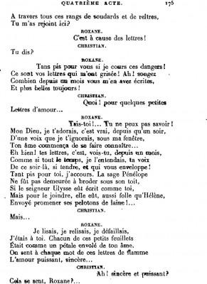 Je Vais écrire Un Poème Damour En Alexandrins Ou En Vers Libres Comme Cyrano De Bergerac Pour 5