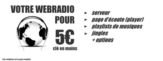 créer votre webradio