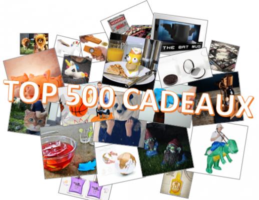 vous donner le Top 500 des idées cadeaux de Noël insolites