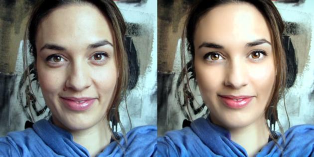 retoucher votre visage