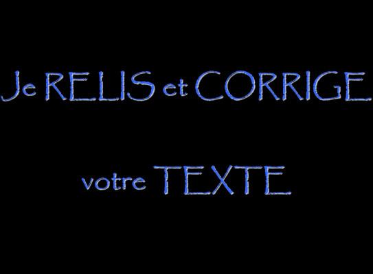 corriger votre texte (5 pages)