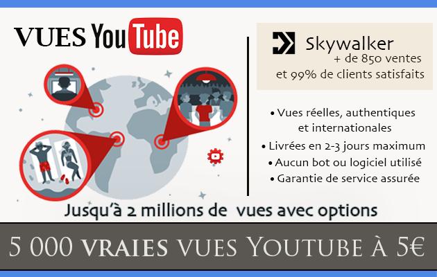 ajouter 5 000 vraies vues à votre vidéo YouTube